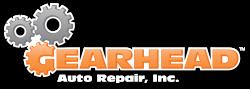 Gearhead Auto Repair Logo